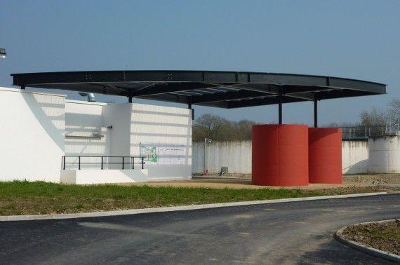 Station traitement des eaux à Carnac (56)