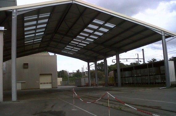 Auvent usine agroalimentaire à Lamballe (22)