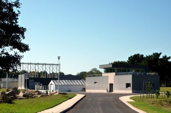Station traitement des eaux à Perros-Guirrec (22)
