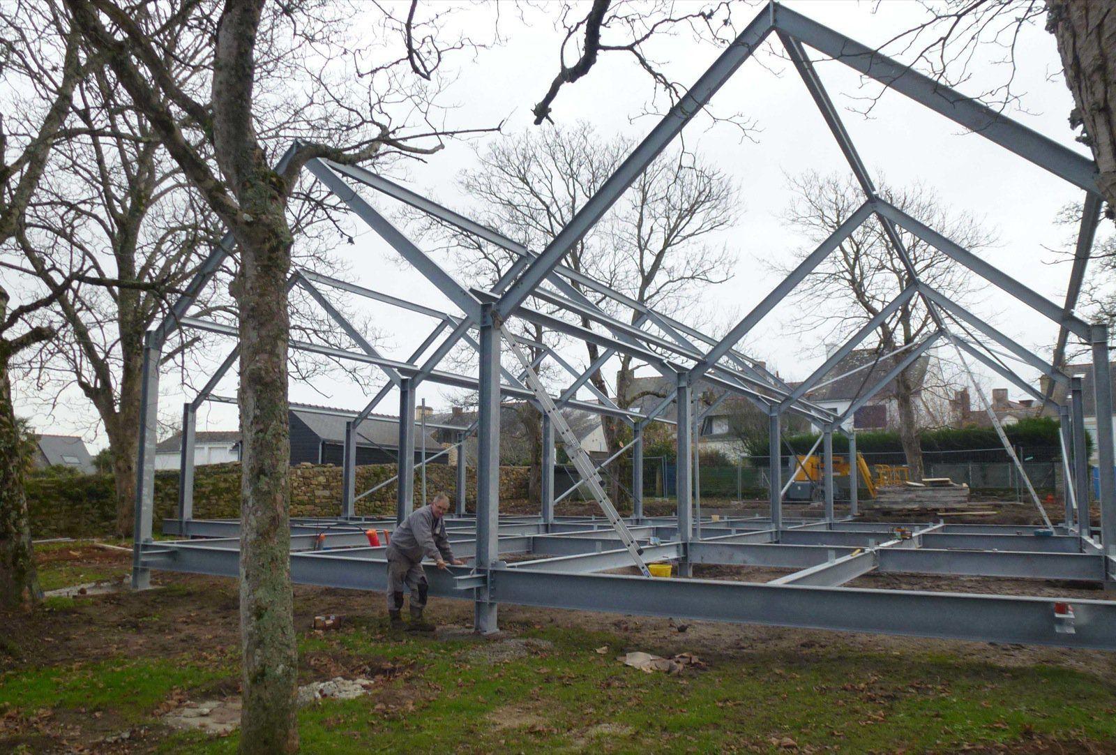 Construction m tallique sefra for Structure metallique architecture