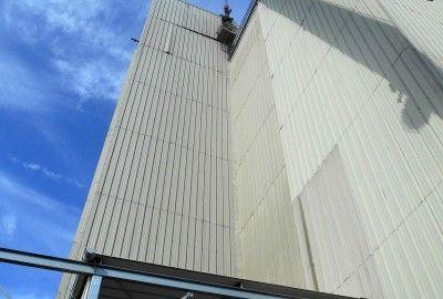 Rénovation d'une tour-usine agroalimentaire à Pouagat (22)