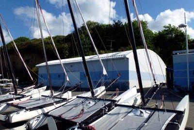 Pôle nautique de Tournemine à Plérin sur Mer (22)