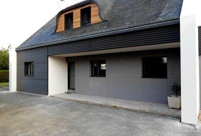 Maison néo-bretonne à Saint-Brieuc (22)