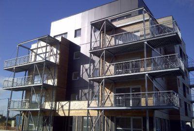 Balcons métalliques à Angers (49)